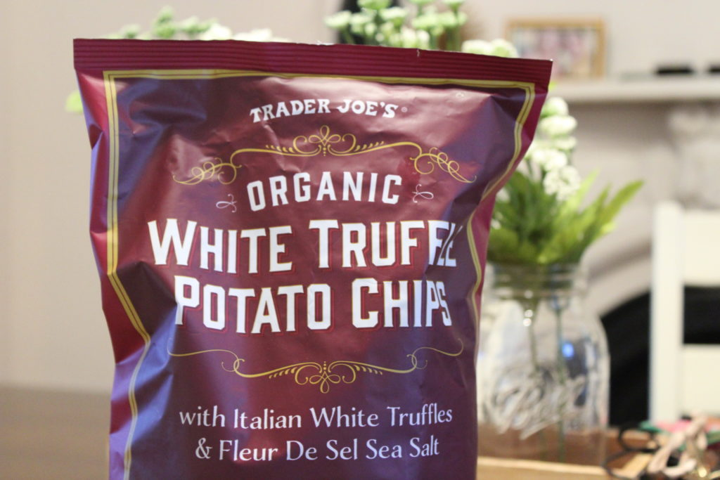 Trader Joe's Organic White Truffle Potato Chips